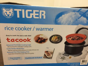 Tiger rice cooker and warmer