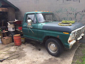 1978 F250 parts truck for sale 2wd