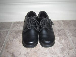 Boys size 13 black lace-up shoes
