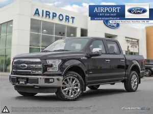 2015 Ford F-150 Lariat 4X4 FX4 with only 38,600 kms