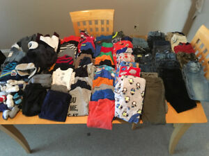 Loads of size 4T clothing