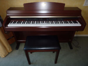 YAMAHA CLAVINOVA CLP-230 DIGITAL UPRIGHT PIANO, 88-KEYS