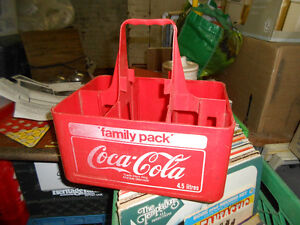 1980s Coca Cola Carrying Case