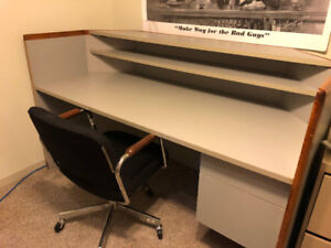 2 PIECE RECEPTION DESK WITH CHAIR