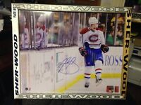 Brendan Gallagher #11 Autographed Montreal Canadiens Framed16x20