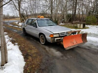 Snow plowing $25 for 2 car driveway