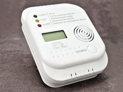 Co Warner CO-Melder Kohlenmonoxid Vergiftung Alarm Gas Sensor Messgerät EN 50291