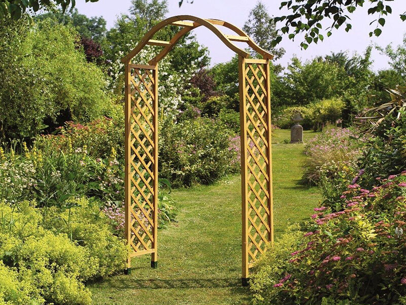 how to build a trellis archway ebay