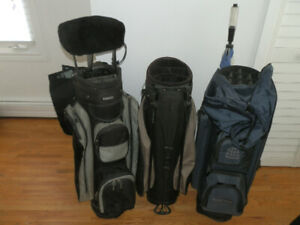 Collection of 3 Golf Bags ($20,$30 and $40)