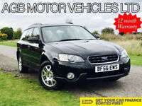 SUBARU OUTBACK 2.5 PETROL AUTO 4 WHEEL DRIVE 4X4 ALL WHEEL AUTOMATIC ESTATE