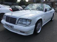Mercedes-Benz 1993 model E220 2.2 auto petrol white E220 LEATHER