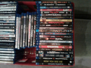 Blu ray dvds - assorted