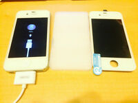 APPLE IPHONE 4S - 32GB UNLOCKED! COMES WITH NEW SCREEN!!!