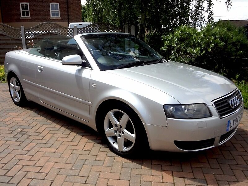 audi a4 cabriolet convertible 2 4 v6 silver automatic in kimberley nottinghamshire gumtree. Black Bedroom Furniture Sets. Home Design Ideas