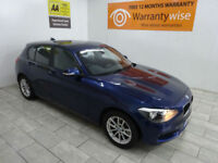 Blue BMW 114 1 Series 1.6TD Sports Hatch d SE ***FROM £173 PER MONTH***
