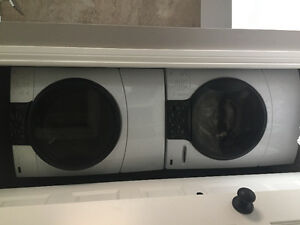 Front load washer and drywr