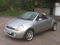 Ford Streetka 1.6 2003 Luxury low mileage heated leather