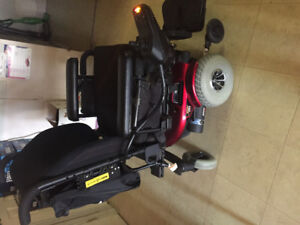 Jazzy 1103 ultra electric wheelchair