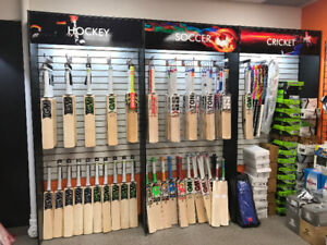 CA, GM, GN, MRF, SS, Adidas CRICKET BATS and equipment!!