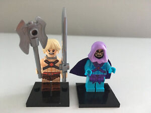 LEGO MEN He-Man and Skeletor Masters of The Universe Figures