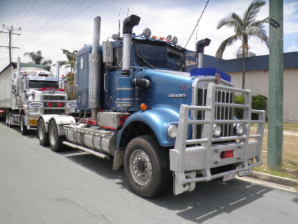Kenworth SAR Introduction to Perm Work Primemover Truck Trailer Clontarf Redcliffe Area Preview