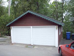 Garage à louer - HIVER seulement (1 espace)