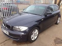BMW 1 SERIES 120 M SPORT MOT TILL 2018 STARTS AND DRIVES GREAT NICE CLUTCH AND GEARBOX CLEAN CAR