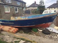 Project boat for sale.. 17x4ft