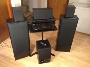Sony and Energy 5.1 500 watt Home Theater System