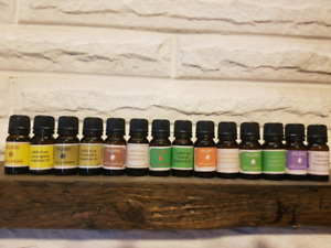 Large variety of essential oils