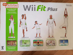 Wii Fit Plus Board and Games
