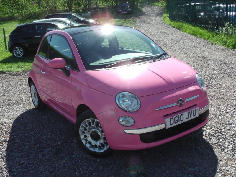 2010 fiat 500 puro2 pink hatchback petrol in saltford bristol gumtree. Black Bedroom Furniture Sets. Home Design Ideas