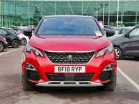 2018 Peugeot 3008 1.6 BlueHDi 120 GT Line 5dr Estate Diesel Manual