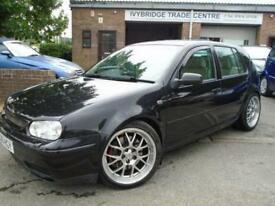 2001 Y VOLKSWAGEN GOLF 2.8 V6 4MOTION 5D 204 BHP