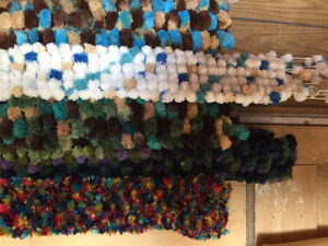 Scarves Hand Knitted for Christmas
