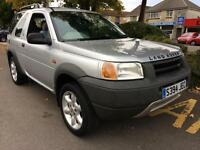 LAND ROVER FREELANDER 1.8 XEi COMPLETE WITH M.O.T HPI CLEAR INC WARRANTY