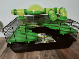Hamster or mouse cage