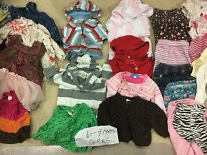 CLOTHES 6-9 MOS GIRLS