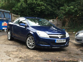 Vauxhall/Opel Astra 2.0i 16v ( 200ps ) Coupe 2008MY Twin Top Design WITH ONLY59K