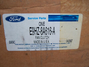 FORD LOUISVILLE-EATON THERMOSTATIC FAN CLUTCH E9HZ-8A616-A NEW Strathcona County Edmonton Area image 3