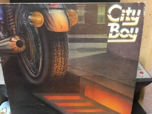 Vinyl- City Boy- The Day The Earth Caught Fire