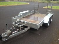3.5 ton indespension plant trailer