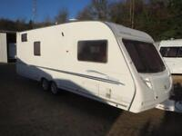 Sterling Elite Trekker 2006 5 Berth Fixed Bunk Beds Twin Axle Touring Caravan