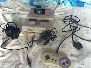 classic Super Nintendo system for sale