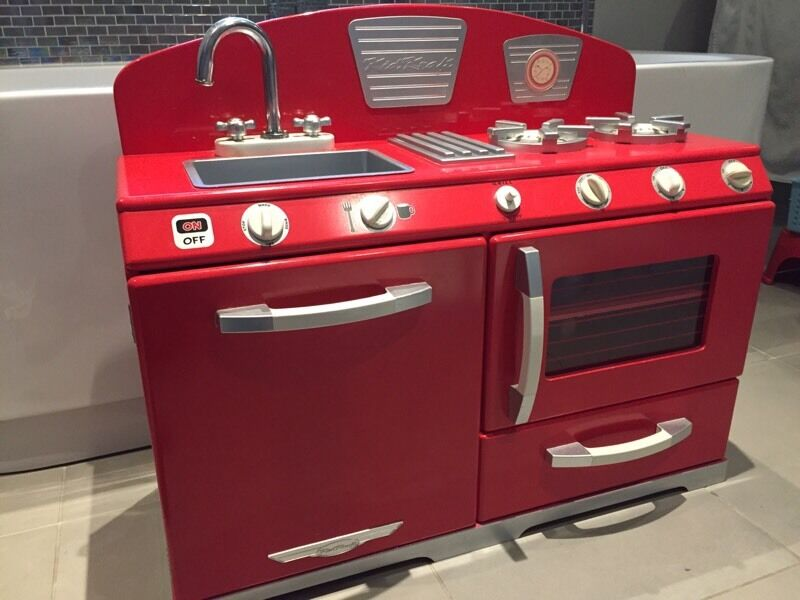 Great Little Trading Company Red Play Kitchen And Food Sets