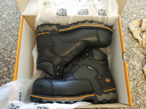 Timberland PRO Mens Boondock Construction Boots Size 10
