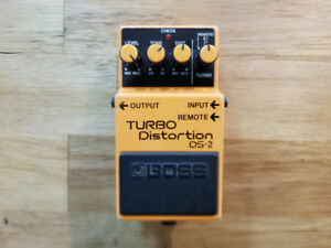 Used Boss DS-2 Turbo Distortion Pedal