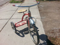 Vintage,Antique,1950s CCM,Tricycle.Bike/Bicycle