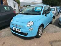 2013 Fiat 500 1.2 Pop 3dr [Start Stop] HATCHBACK Petrol Manual
