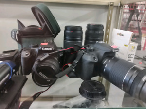 Cannon Cameras and Lenses